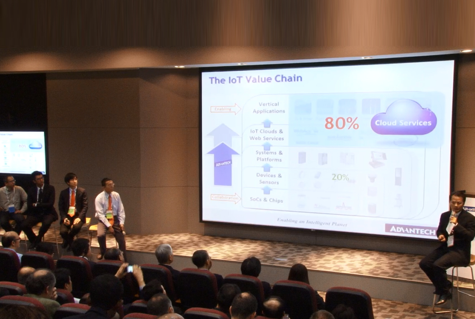 Advantech WISE-Cloud Service Development Strategy for the IoT Era