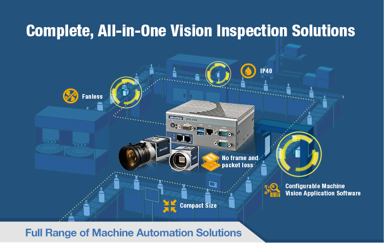 Complete, All-in-One Vision Inspection Solutions | Advantech