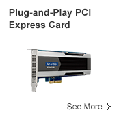 Plug-and-Play PCI Express Card