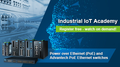 Introduction to Power over Ethernet (PoE) and Advantech PoE Ethernet switches