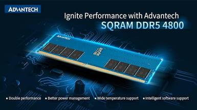 Advantech Releases Next-generation SQRAM DDR5 4800 Memory for High Performance Computing at the Edge