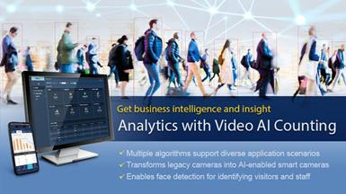 【New Product Announcement】Advantech Launches Video AI Counting Edge SRP for Intelligent People Counting and Heatmap Analysis