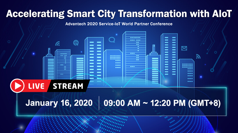 【SIoT WPC Live Stream】 Accelerating Smart City Transformation with AIoT