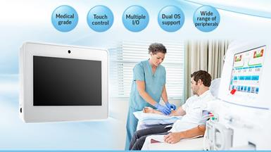 "Advantech Launches HIT-507 7"" Medical-Grade Healthcare Information Terminal for HMI Applications"