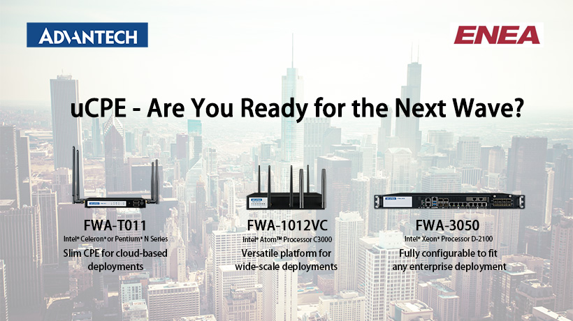 Enea NFV Access - Software Platform for Advantech White box uCPEs