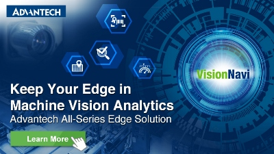 Keep Your Edge in Machine Vision Analytics