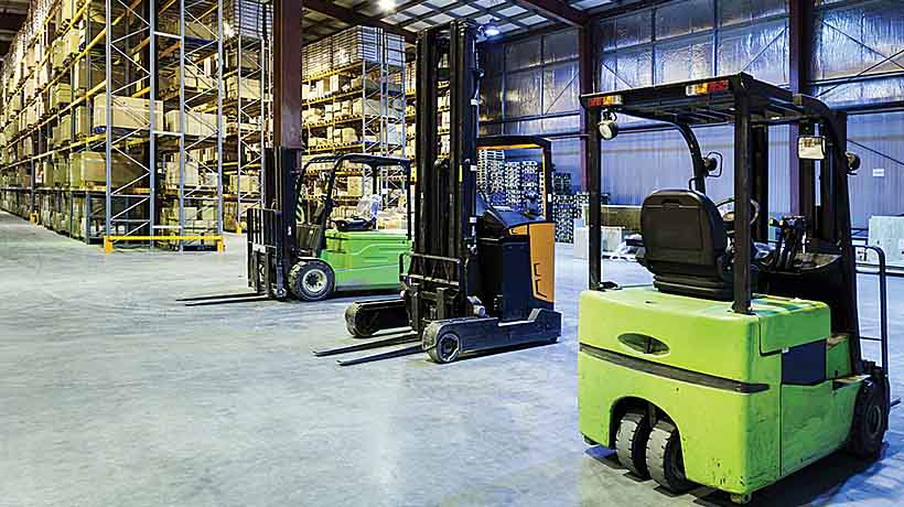 Wi-Fi Module Connects Forklift Fleet