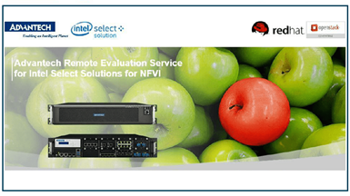 Remote Evaluation of Intel Select Solutions for NFVI