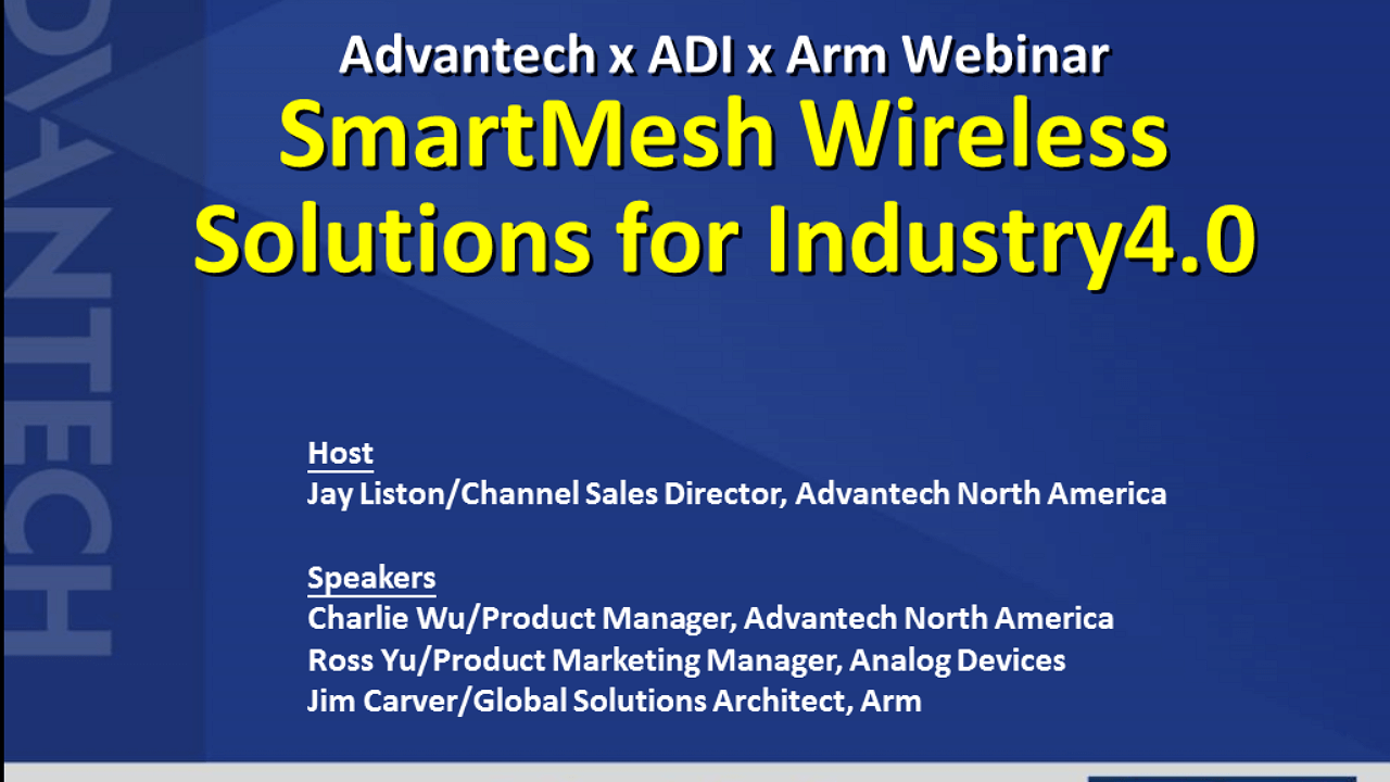 To Db25 Serial Cable Pinout Besides 13 Pin Trailer Plug Wiring Diagram Advantech Industrial Computer Embedded Adi Arm Smartmesh Solutions For Industry40 Webinar