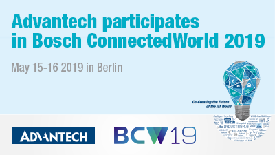 May 15-16 Bosch ConnectedWorld 2019 Berlin