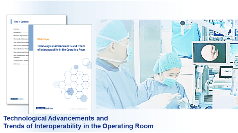 【White Paper】Technological Advancements and Trends of Interoperability in the Operating Room