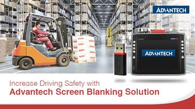 Advantech Launches New DLT-SA6100, USB-Based Digital Smart Motion Sensor for Screen Blanking Solution