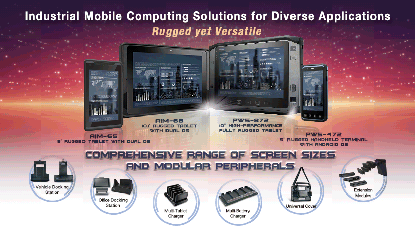 Industrial Mobile Computing Solutions for Diverse Applications