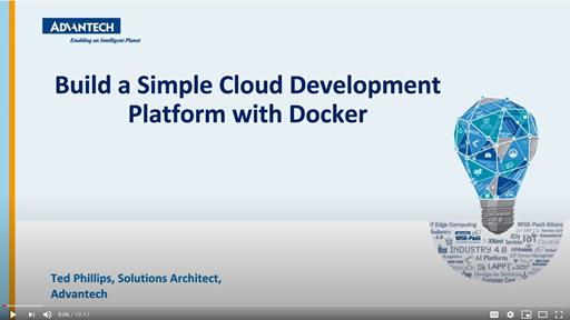 Build a Simple Cloud Development Platform with Docker