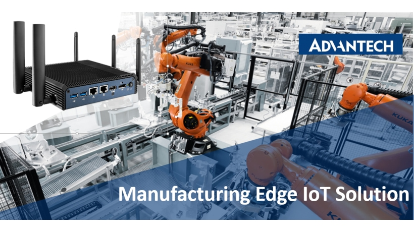 Edge IoT Solution connects factory floor machines to MES systems