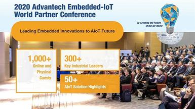 Advantech Embedded-IoT World Partner Conference - Co-Creating AIoT Ecosystem Through Embedded Innovations and AI Edge Intelligence