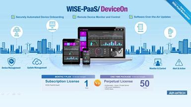 Advantech Launches New IoT Device Operations Management App- WISE-PaaS/DeviceOn