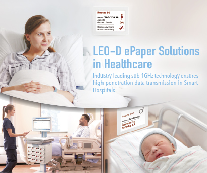 LEO-D ePaper Solution in Healthcare
