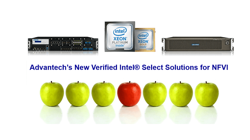 Intel® Select Solution for NFVI with Advantech Servers & Appliances