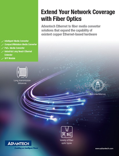 Advantech 2019 ICG Fiber Optics Brochure