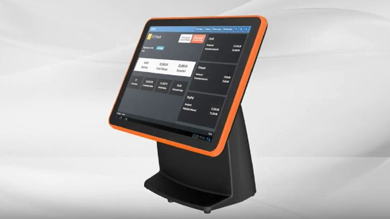 "UPOS-510 series: 15"" High-Performance Modularized POS System"