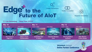 Advantech Connect Online Partner Conference: Edge+ to the Future of AIoT