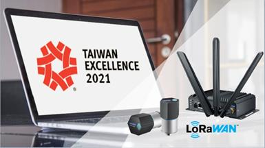Advantech LoRaWAN Solution Wins 2021 Taiwan Excellence Award