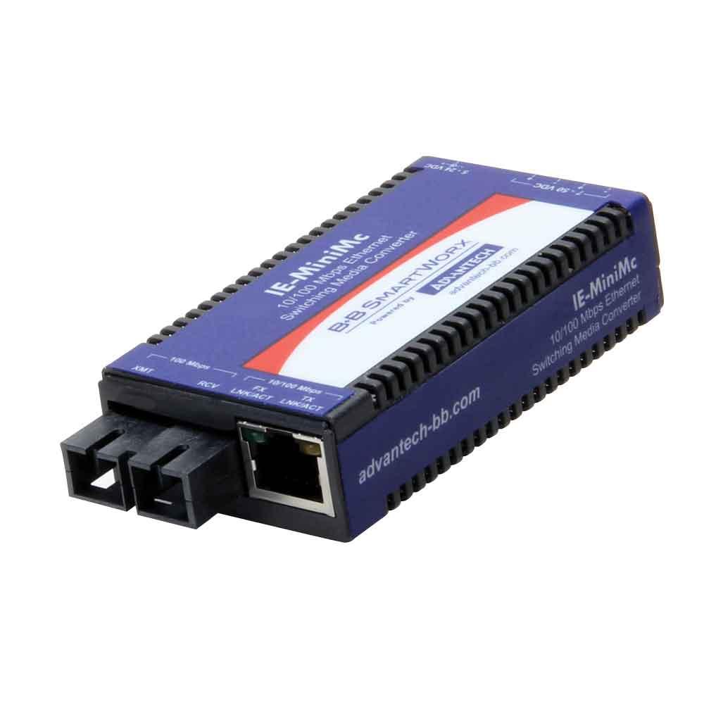 IMC-350I-SE-A - Miniature Media Converter, Wide Temp