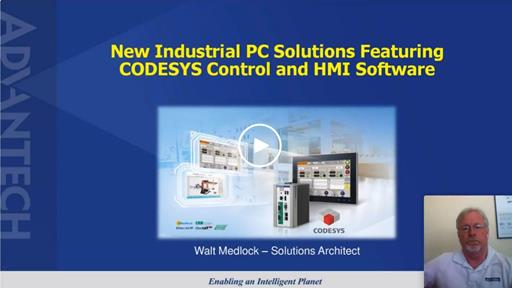 Industrial PC Solutions featuring CODESYS Control & HMI Software