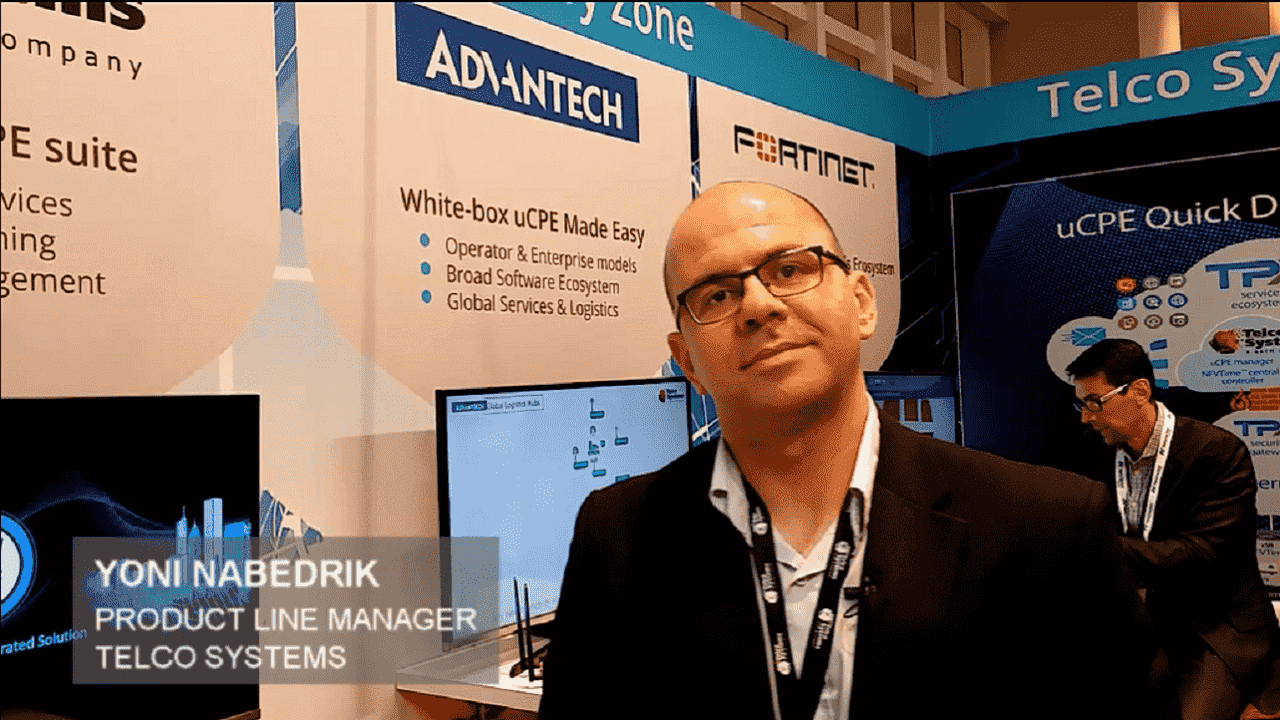 Telco Systems & Advantech Quick Deploy Zone MPLS+SDN Paris 2019