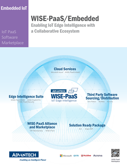 WISE-PaaS- Enabling IoT Edge Intelligence with a Collaborative Ecosystem