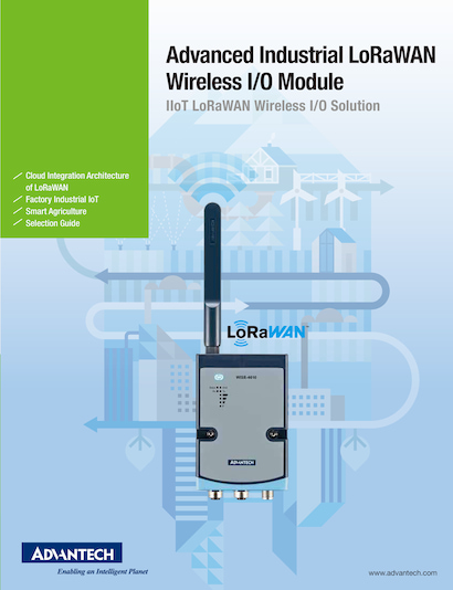 Advanced Industrial LoRaWAN Wireless I/O Module