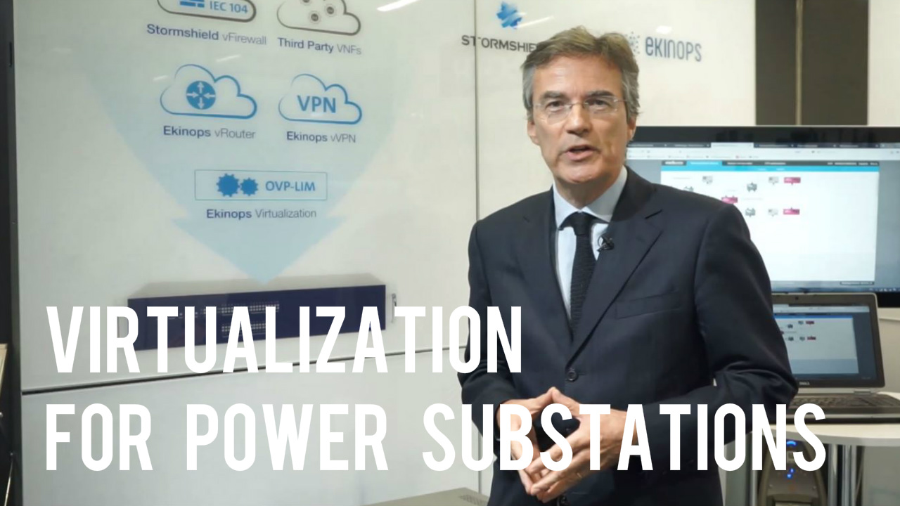 Virtualization for Power Substation