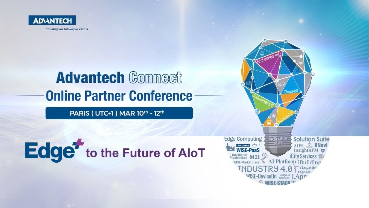 2021 Advantech Connect Edge+ to the Future of AIoT Teaser (EU)