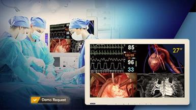 "Advantech Launches Enhanced 27"" PAX-327 Medical-Grade Surgical Monitor"
