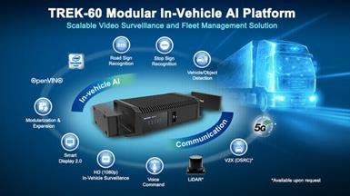 Advantech Launches TREK-60 Modular In-Vehicle AI Platform for Scalable Surveillance and Fleet Management