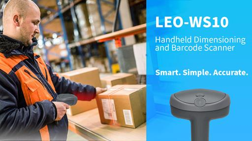 LEO-WS10 Handheld Dimensioning and Barcode Scanner for Improved Operational Efficiency