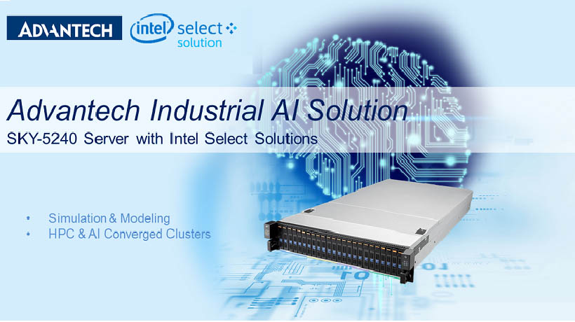 Accelerate Your AI Deployment with Intel Select Solution and Advantech SKY-5240