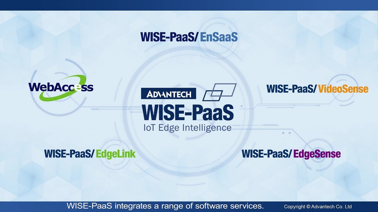 Advantech WISE-PaaS Industrial IoT Cloud Platform