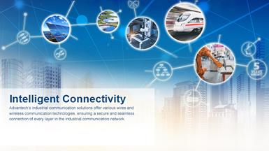 Advantech shows Rapid Market Growth with Updated Line of Ethernet Infrastructure Products Designed for Smart Applications