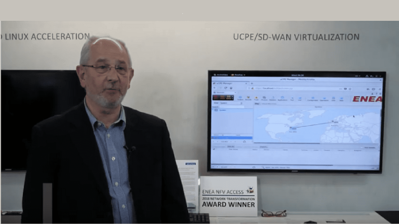 Advantech MWC 19 LIVE! Enea NFVAccess & Fortinet SD-WAN Demo for SlimCPE & uCPE