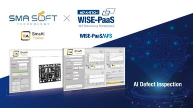 Smasoft's SmaAI & Advantech's WISE-PaaS/AFS: Realizing Mass Deployment for AI Applications