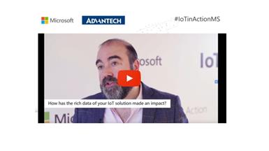 Advantech in Microsoft's IoT in Action event, Poland, 2019.