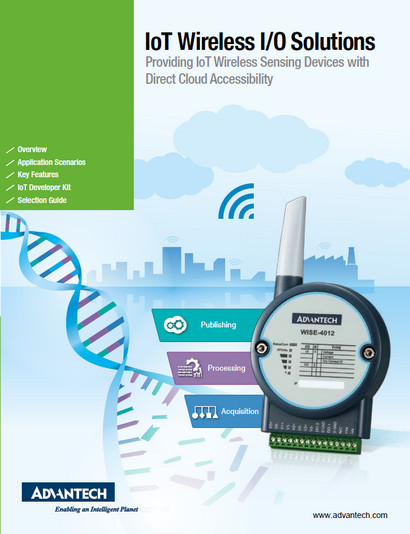 Advantech IoT Wireless I/O Solutions