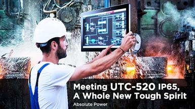 UTC-520IP65 with Full IP65-Rated Stainless Steel Enclosure for Harsh Industrial Environments