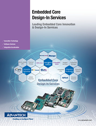Advantech Embedded Core Design-In Services
