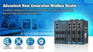 Advantech's New Generation of Modbus Routers