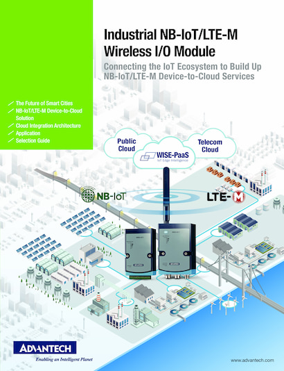 Industrial NB-IoT/LTE-M Wireless I/O Module