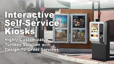 Advantech UTK-932 Outdoor Self-service Kiosk Features Stylish Modular Design Easily Adapted to a Wide Range of Applications