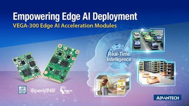 Advantech's VEGA-300 Series: the Most Advanced Edge AI Acceleration Modules in the Industry